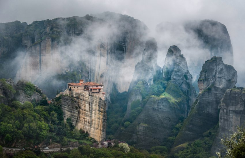 Holy Monastery of Roussanou Featured images